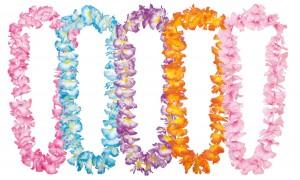 collier fleur tropicale