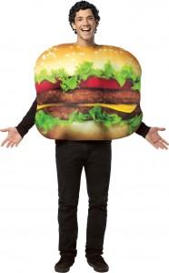 Déguisement de hamburger