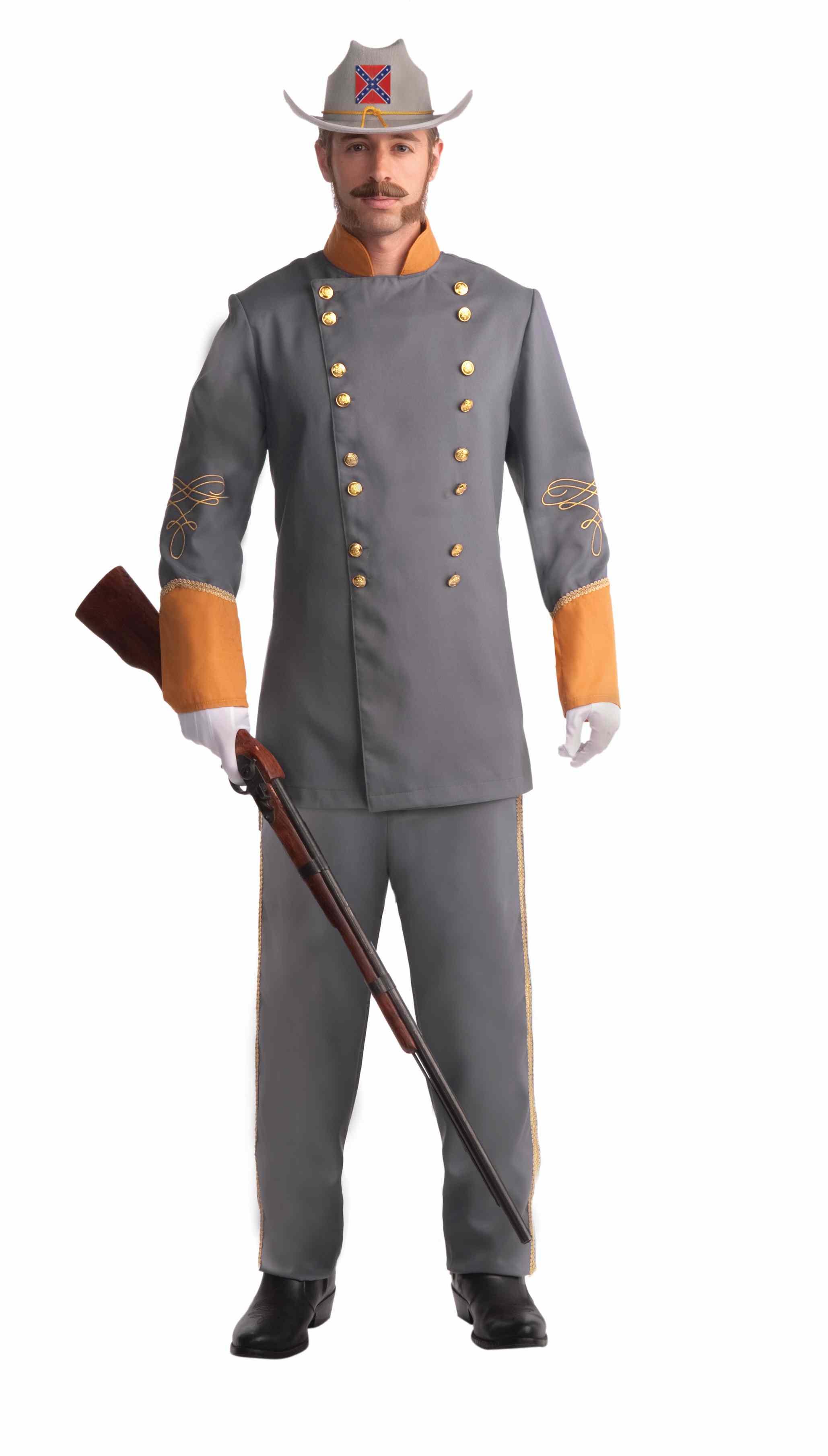 deguisement soldat confédéres