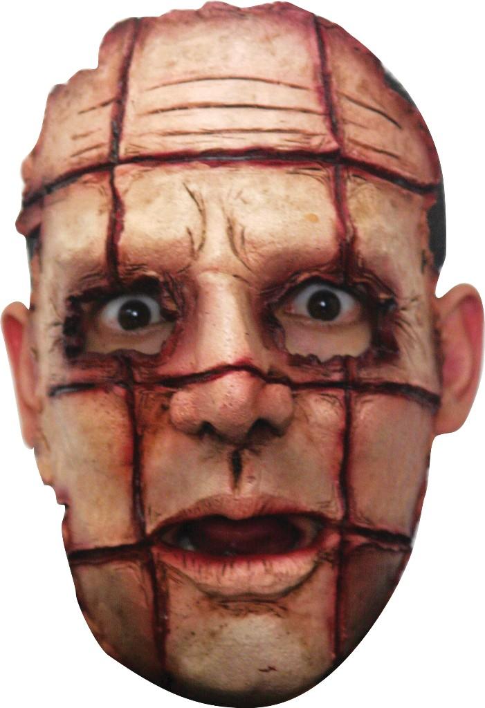 masque avec cicatrice