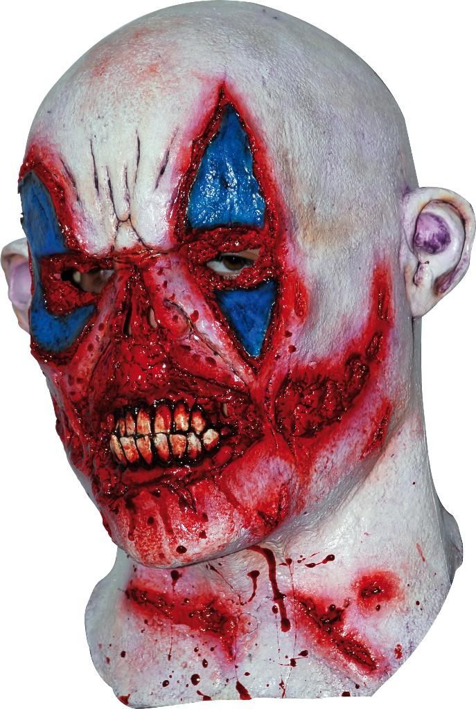 masque zombie en sang