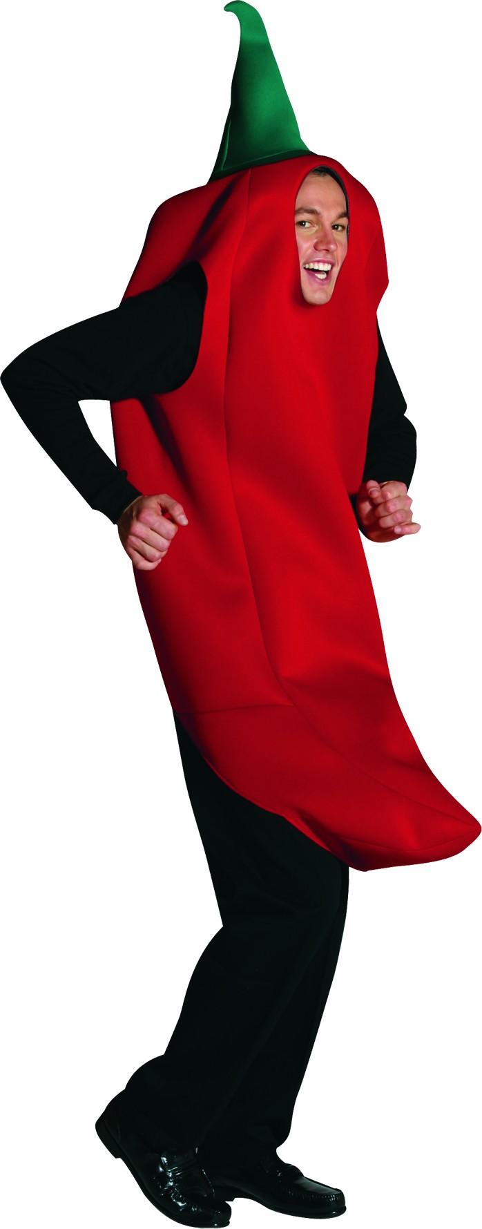 deguisement piment rouge