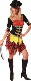 Capitaine pirate femme