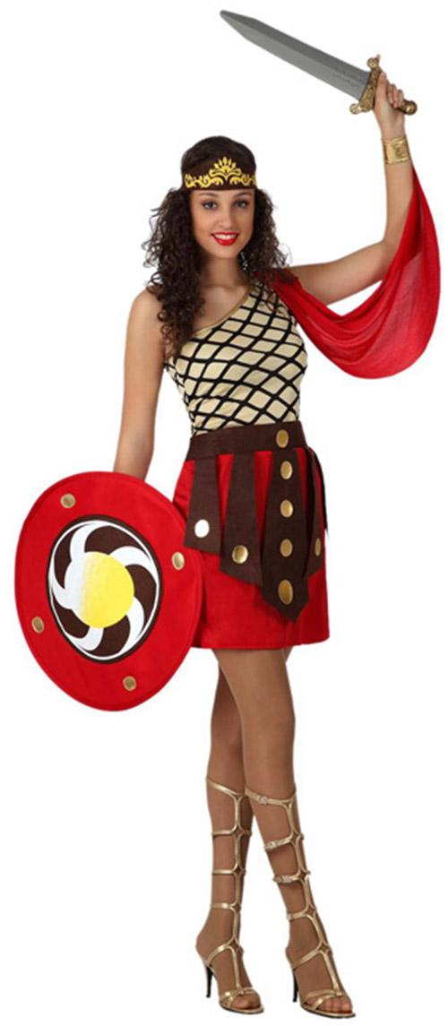deguisement gladiatrice