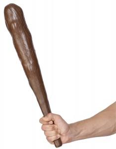 gourdin homme prehistorique