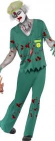 Déguisement infirmier zombie