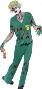 deguisement infirmier zombie