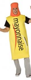 Déguisement mayonnaise
