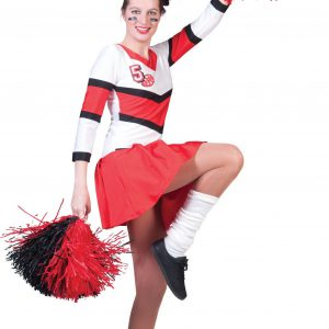 cheerleader pompom girl