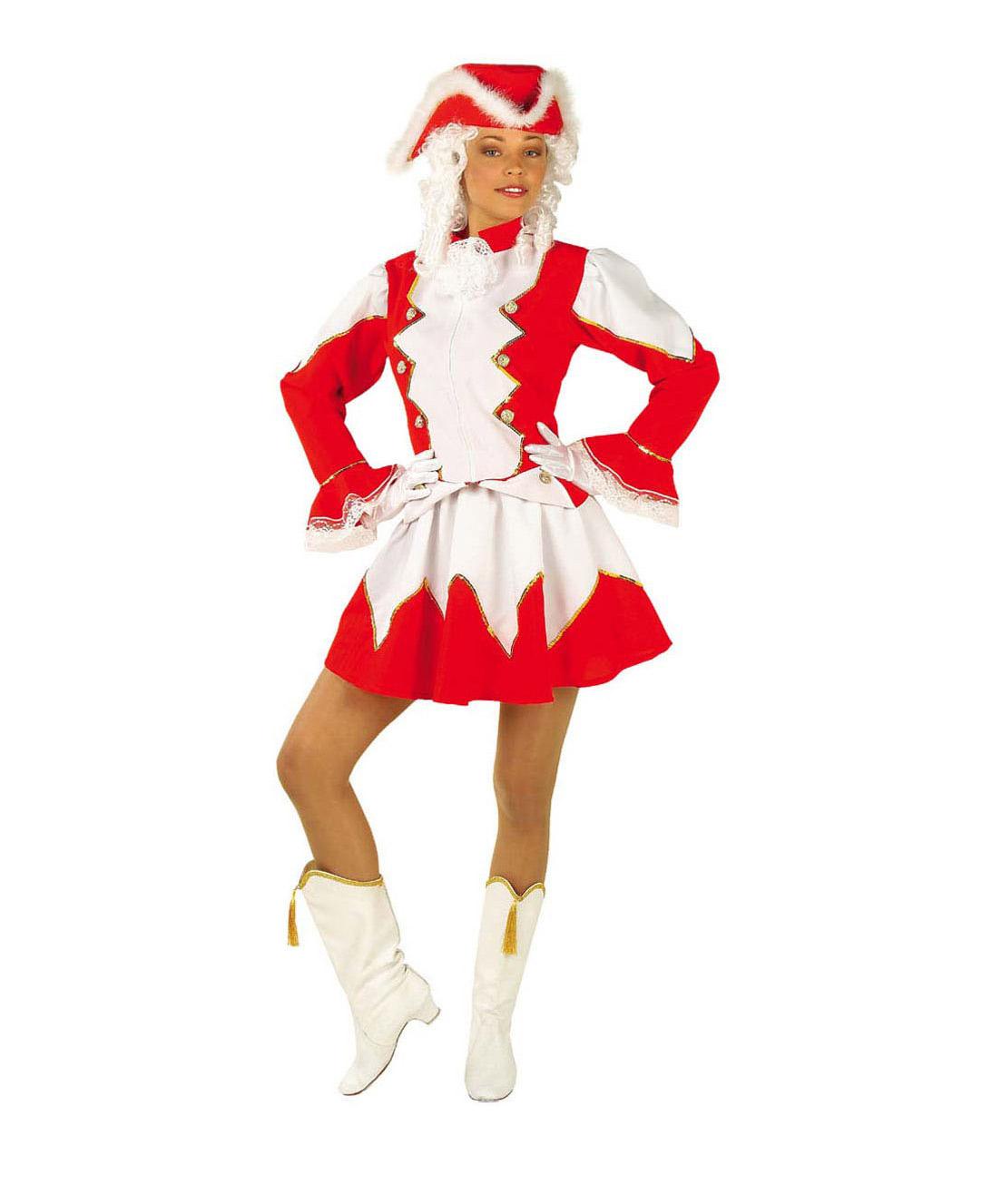 2066946312a04 Déguisement fanfare adulte   Costume majorette femme