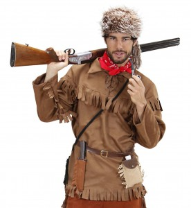 deguisement trappeur canadien