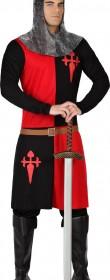 Déguisement de chevalier rouge et noir