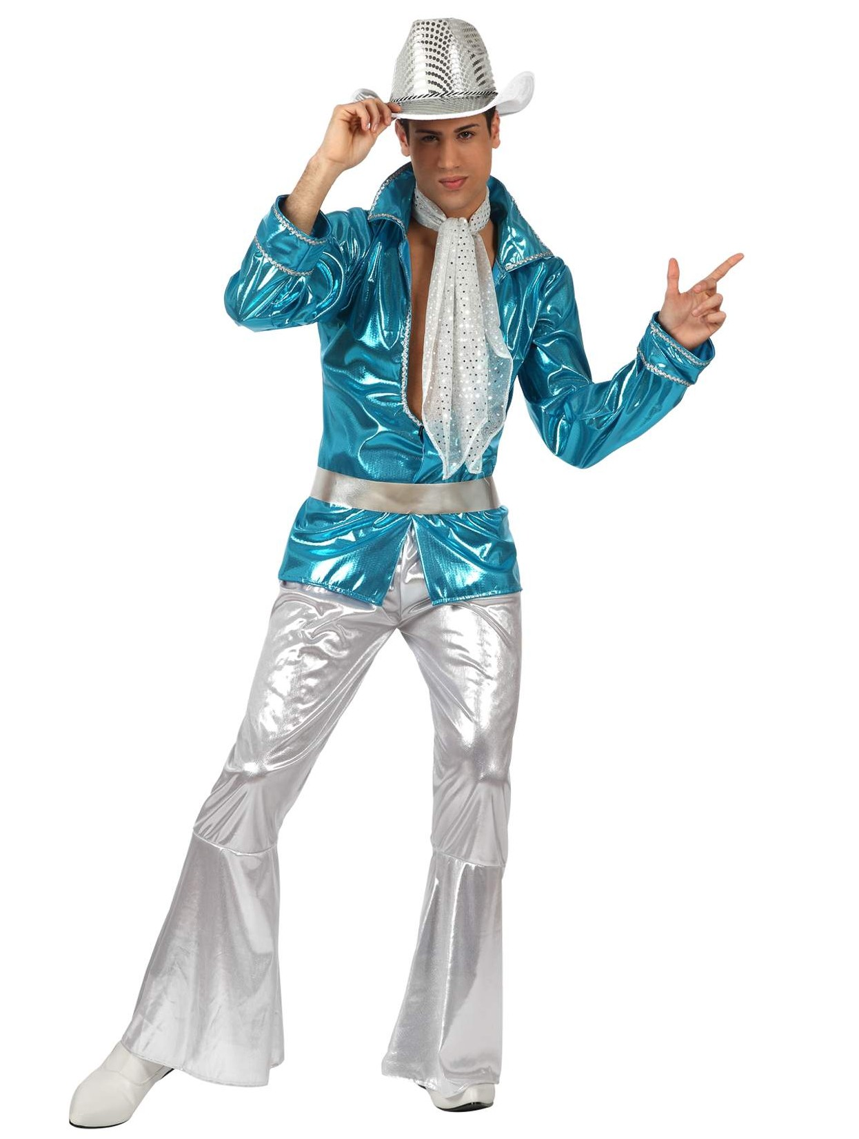 deguisement paillettes disco