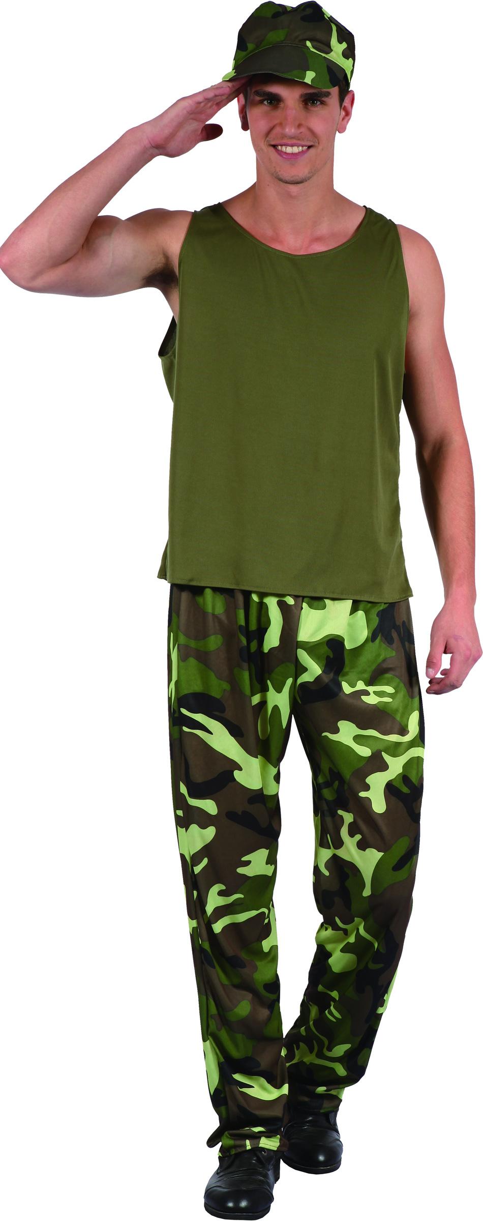 d guisement militaire adulte tenue camoufl e. Black Bedroom Furniture Sets. Home Design Ideas