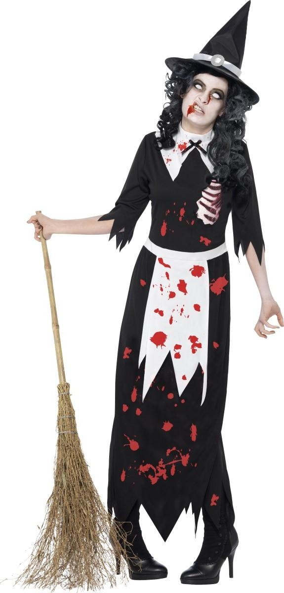 sorcière zombie